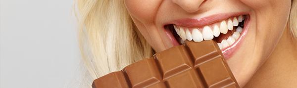 Chocolate faz bem para os olhos?